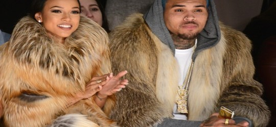 #CherryJuice: Chris Brown Karrueche Spotted In NYC With Matching Furs #NYFW