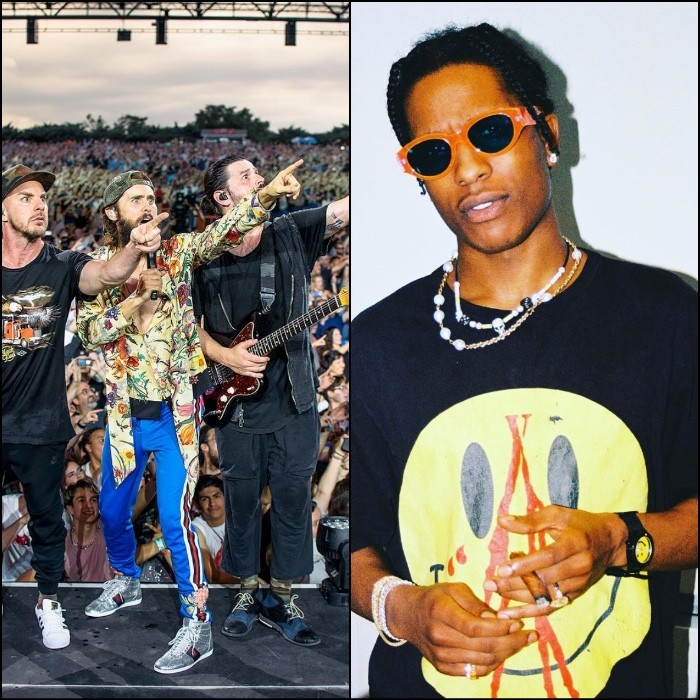Thirty Seconds to Mars x A$AP Rocky