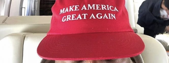 #CherryJuice: Kanye West Its Bigger Than Rap Maga Hat