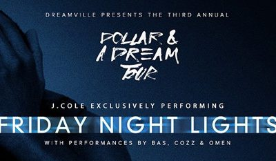#FreshJuice: J Cole Announces The Dollar And A Dream Tour!