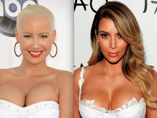 #CherryJuice: Kim K and Amber Rose's Selfie Puts an End to Their Beef