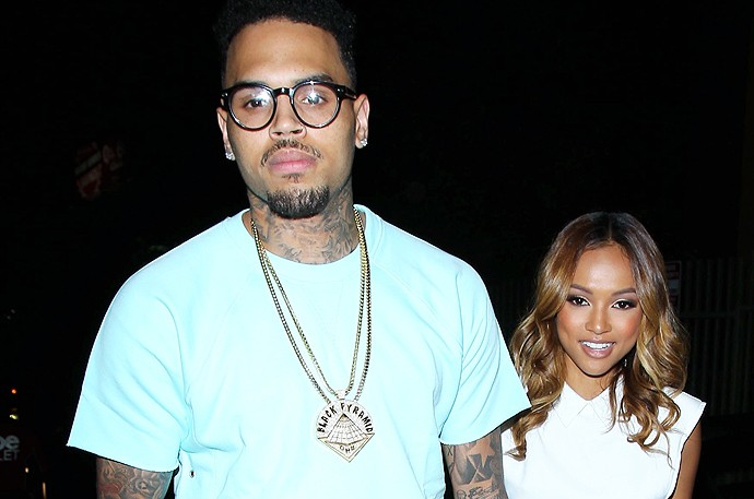 #CherryJuice: Chris Brown and Karrueche Are Beefing...Again