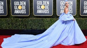 Lady Gaga on red carpet