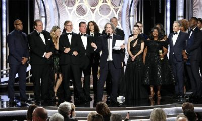The cast of Green Book